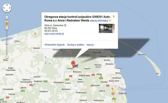 Okręgowa stacja kontroli pojazdów GWE/01 Auto-Roma s.c Anna i Radosław Wenta